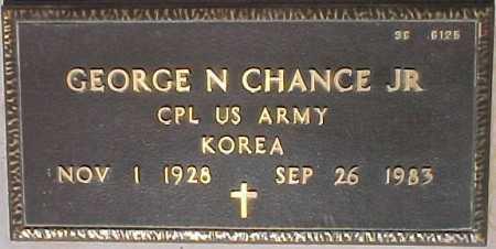 CHANCE, GEORGE N., JR. - Maricopa County, Arizona | GEORGE N., JR. CHANCE - Arizona Gravestone Photos