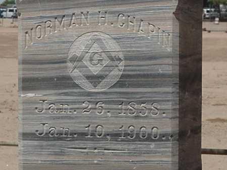 CHAPIN, NORMAN H - Maricopa County, Arizona | NORMAN H CHAPIN - Arizona Gravestone Photos