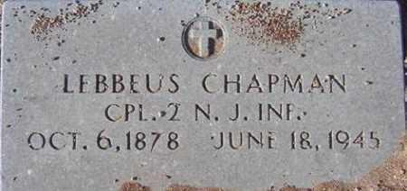 CHAPMAN, LEBBEUS - Maricopa County, Arizona | LEBBEUS CHAPMAN - Arizona Gravestone Photos