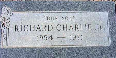 CHARLIE, RICHARD, JR - Maricopa County, Arizona | RICHARD, JR CHARLIE - Arizona Gravestone Photos