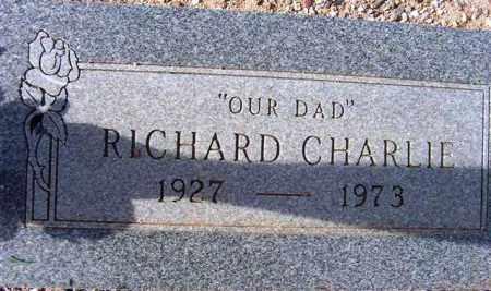 CHARLIE, RICHARD - Maricopa County, Arizona   RICHARD CHARLIE - Arizona Gravestone Photos