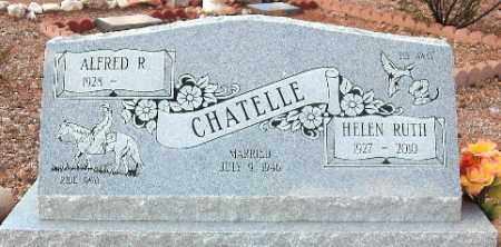 REEVES CHATELLE, HELEN RUTH - Maricopa County, Arizona | HELEN RUTH REEVES CHATELLE - Arizona Gravestone Photos