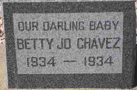 CHAVEZ, BETTY JO - Maricopa County, Arizona | BETTY JO CHAVEZ - Arizona Gravestone Photos
