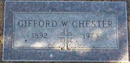 CHESTER, GIFFORD W. - Maricopa County, Arizona | GIFFORD W. CHESTER - Arizona Gravestone Photos