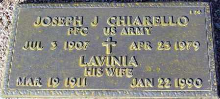 CHIARELLO, JOSEPH J. - Maricopa County, Arizona | JOSEPH J. CHIARELLO - Arizona Gravestone Photos