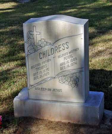 MCGEE CHILDRESS, PEARL - Maricopa County, Arizona   PEARL MCGEE CHILDRESS - Arizona Gravestone Photos