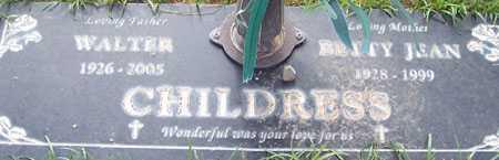 CHILDRESS, BETTY JEAN - Maricopa County, Arizona | BETTY JEAN CHILDRESS - Arizona Gravestone Photos