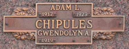 CHIPULES, GWENDOLYN A - Maricopa County, Arizona | GWENDOLYN A CHIPULES - Arizona Gravestone Photos