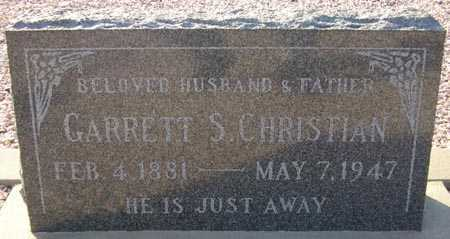 CHRISTIAN, GARRETT S. - Maricopa County, Arizona | GARRETT S. CHRISTIAN - Arizona Gravestone Photos