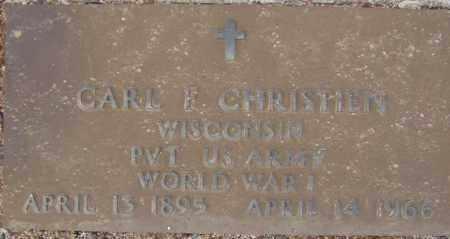 CHRISTIEN, CARL F. - Maricopa County, Arizona | CARL F. CHRISTIEN - Arizona Gravestone Photos