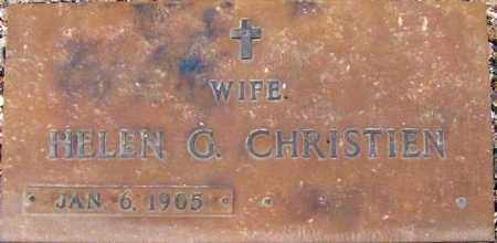 CHRISTIEN, HELEN G. - Maricopa County, Arizona | HELEN G. CHRISTIEN - Arizona Gravestone Photos