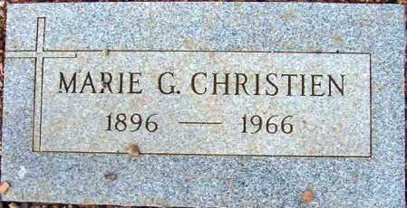 CHRISTIEN, MARIE G. - Maricopa County, Arizona | MARIE G. CHRISTIEN - Arizona Gravestone Photos