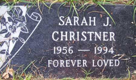 CHRISTNER, SARAH J. - Maricopa County, Arizona | SARAH J. CHRISTNER - Arizona Gravestone Photos