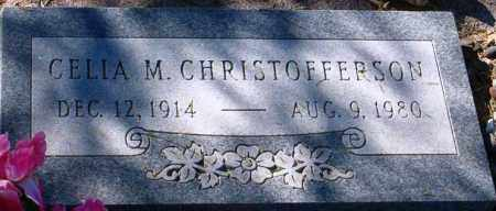 CHRISTOFFERSON, CELIA M. - Maricopa County, Arizona | CELIA M. CHRISTOFFERSON - Arizona Gravestone Photos