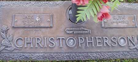 CHRISTOPHERSON, JACK H. - Maricopa County, Arizona | JACK H. CHRISTOPHERSON - Arizona Gravestone Photos