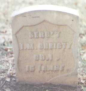 CHRISTY, I. M. - Maricopa County, Arizona | I. M. CHRISTY - Arizona Gravestone Photos