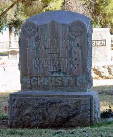 CHRISTY, ISAAC MARSHALL - Maricopa County, Arizona | ISAAC MARSHALL CHRISTY - Arizona Gravestone Photos
