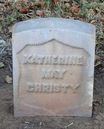 CHRISTY, KATHERINE MAY - Maricopa County, Arizona | KATHERINE MAY CHRISTY - Arizona Gravestone Photos