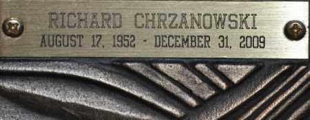 CHRZANOWSKI, RICHARD (SKI) - Maricopa County, Arizona   RICHARD (SKI) CHRZANOWSKI - Arizona Gravestone Photos