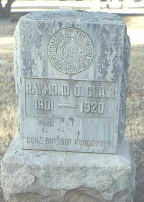 CLAIR, RAYMOND O. - Maricopa County, Arizona   RAYMOND O. CLAIR - Arizona Gravestone Photos