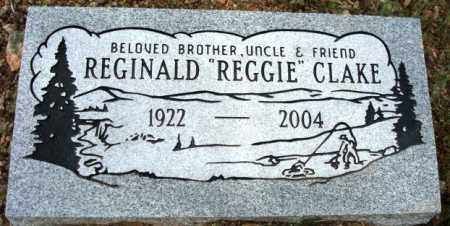 CLAKE, REGINALD (REGGIE) H. - Maricopa County, Arizona | REGINALD (REGGIE) H. CLAKE - Arizona Gravestone Photos