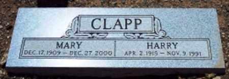 CLAPP, MARY - Maricopa County, Arizona   MARY CLAPP - Arizona Gravestone Photos
