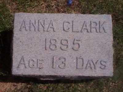 CLARK, ANNA - Maricopa County, Arizona   ANNA CLARK - Arizona Gravestone Photos