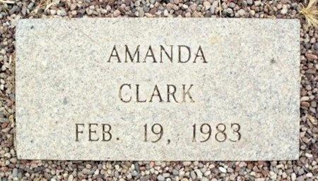 CLARK, AMANDA - Maricopa County, Arizona | AMANDA CLARK - Arizona Gravestone Photos