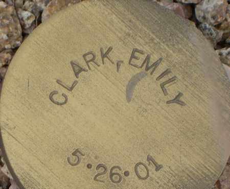 CLARK, EMILY - Maricopa County, Arizona | EMILY CLARK - Arizona Gravestone Photos