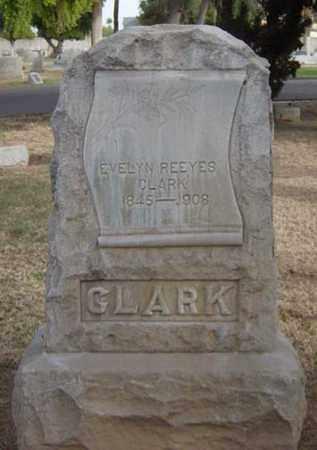 CLARK, EVELYN REEYES - Maricopa County, Arizona | EVELYN REEYES CLARK - Arizona Gravestone Photos