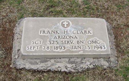 CLARK, FRANK H. - Maricopa County, Arizona   FRANK H. CLARK - Arizona Gravestone Photos
