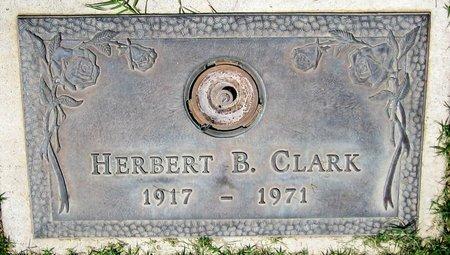 CLARK, HERBERT B. - Maricopa County, Arizona   HERBERT B. CLARK - Arizona Gravestone Photos