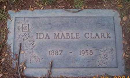 CLARK, IDA MABLE - Maricopa County, Arizona | IDA MABLE CLARK - Arizona Gravestone Photos