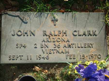 CLARK, JOHN RALPH - Maricopa County, Arizona | JOHN RALPH CLARK - Arizona Gravestone Photos