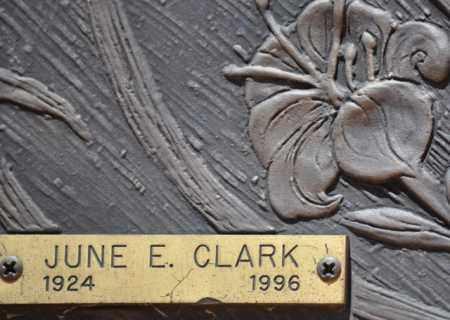 CLARK, JUNE E. - Maricopa County, Arizona | JUNE E. CLARK - Arizona Gravestone Photos