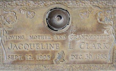 CLARK, JACQUELINE I. - Maricopa County, Arizona   JACQUELINE I. CLARK - Arizona Gravestone Photos