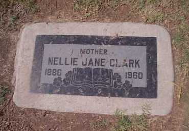 CLARK, NELLIE JANE - Maricopa County, Arizona | NELLIE JANE CLARK - Arizona Gravestone Photos