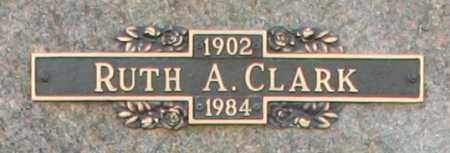 CLARK, RUTH A - Maricopa County, Arizona | RUTH A CLARK - Arizona Gravestone Photos