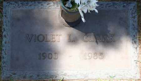 CLARK, VIOLET L. - Maricopa County, Arizona | VIOLET L. CLARK - Arizona Gravestone Photos