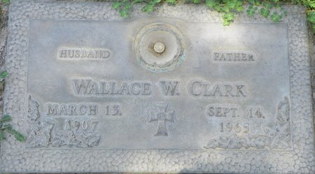 CLARK, WALLACE W - Maricopa County, Arizona   WALLACE W CLARK - Arizona Gravestone Photos