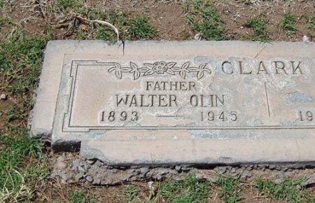 CLARK, WALTER OLIN - Maricopa County, Arizona | WALTER OLIN CLARK - Arizona Gravestone Photos