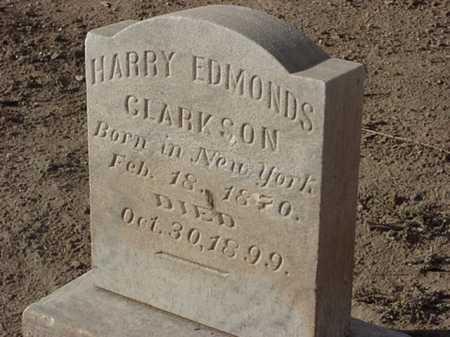CLARKSON, HARRY EDMONDS - Maricopa County, Arizona   HARRY EDMONDS CLARKSON - Arizona Gravestone Photos