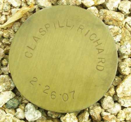 CLASPILL, RICHARD - Maricopa County, Arizona   RICHARD CLASPILL - Arizona Gravestone Photos