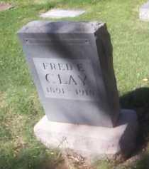 CLAY, FRED E. - Maricopa County, Arizona   FRED E. CLAY - Arizona Gravestone Photos