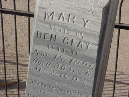 TOVREA CLAY, MARY - Maricopa County, Arizona | MARY TOVREA CLAY - Arizona Gravestone Photos