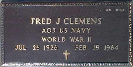 CLEMENS, FRED J. - Maricopa County, Arizona | FRED J. CLEMENS - Arizona Gravestone Photos