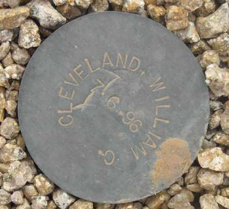CLEVELAND, WILLIAM C. - Maricopa County, Arizona   WILLIAM C. CLEVELAND - Arizona Gravestone Photos