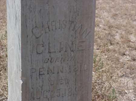 CLINE, CHRISTIAN - Maricopa County, Arizona | CHRISTIAN CLINE - Arizona Gravestone Photos