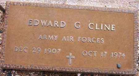 CLINE, EDWARD G. - Maricopa County, Arizona | EDWARD G. CLINE - Arizona Gravestone Photos