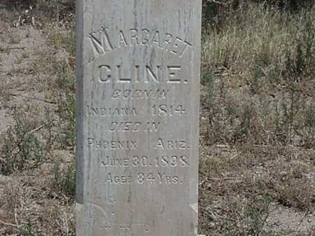 CLINE, MARGARET - Maricopa County, Arizona | MARGARET CLINE - Arizona Gravestone Photos